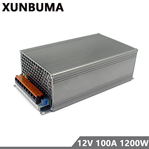 Price comparison product image Switching Power Supply DC 12V 100A 1200w Power Adapter Driver Transformer 110V 220V AC DC12V for Led strip lamp CNC CCTV