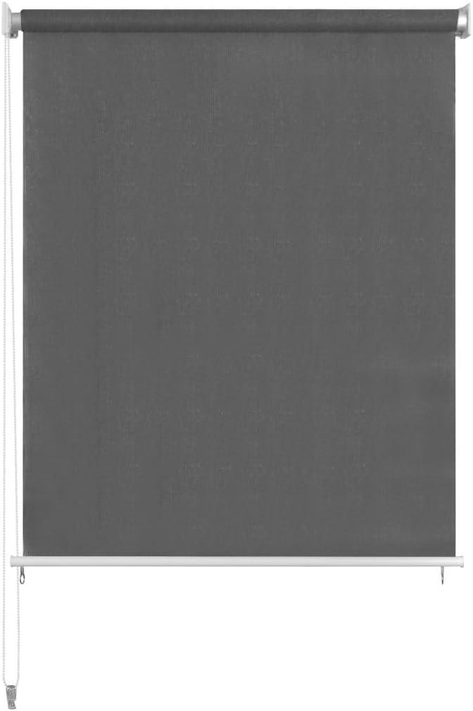 Tidyard Au/ßenrollo Senkrechtmarkise HDPE Balkonrollo Windschutz Farb- und Gr/ö/ßenauswahl 90/% UV-Schutz f/ür Au/ßenbereich Sonnenschutz und Sichtschutz
