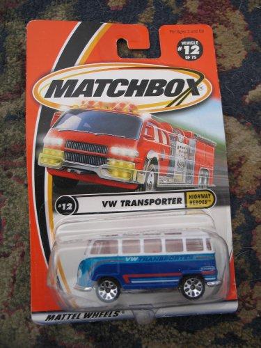 Matchbox Highway Heroes VW Transporter (Transporter Matchbox)