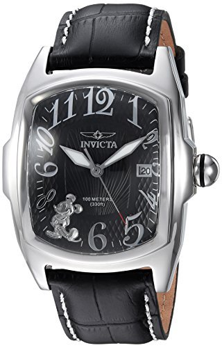 y Limited Edition' Quartz Stainless Steel and Leather Casual Watch, Color:Black (Model: 25022) ()