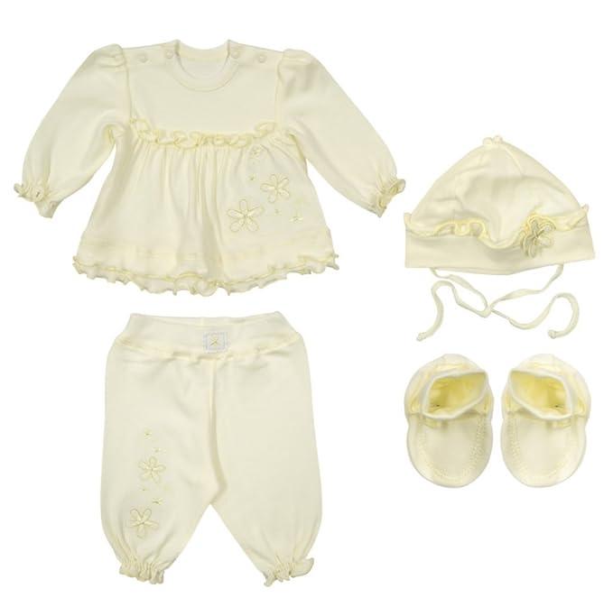 Richelieur - Ropa de bautizo - Camisa - para bebé niña beige 62 cm: Amazon.es: Ropa y accesorios