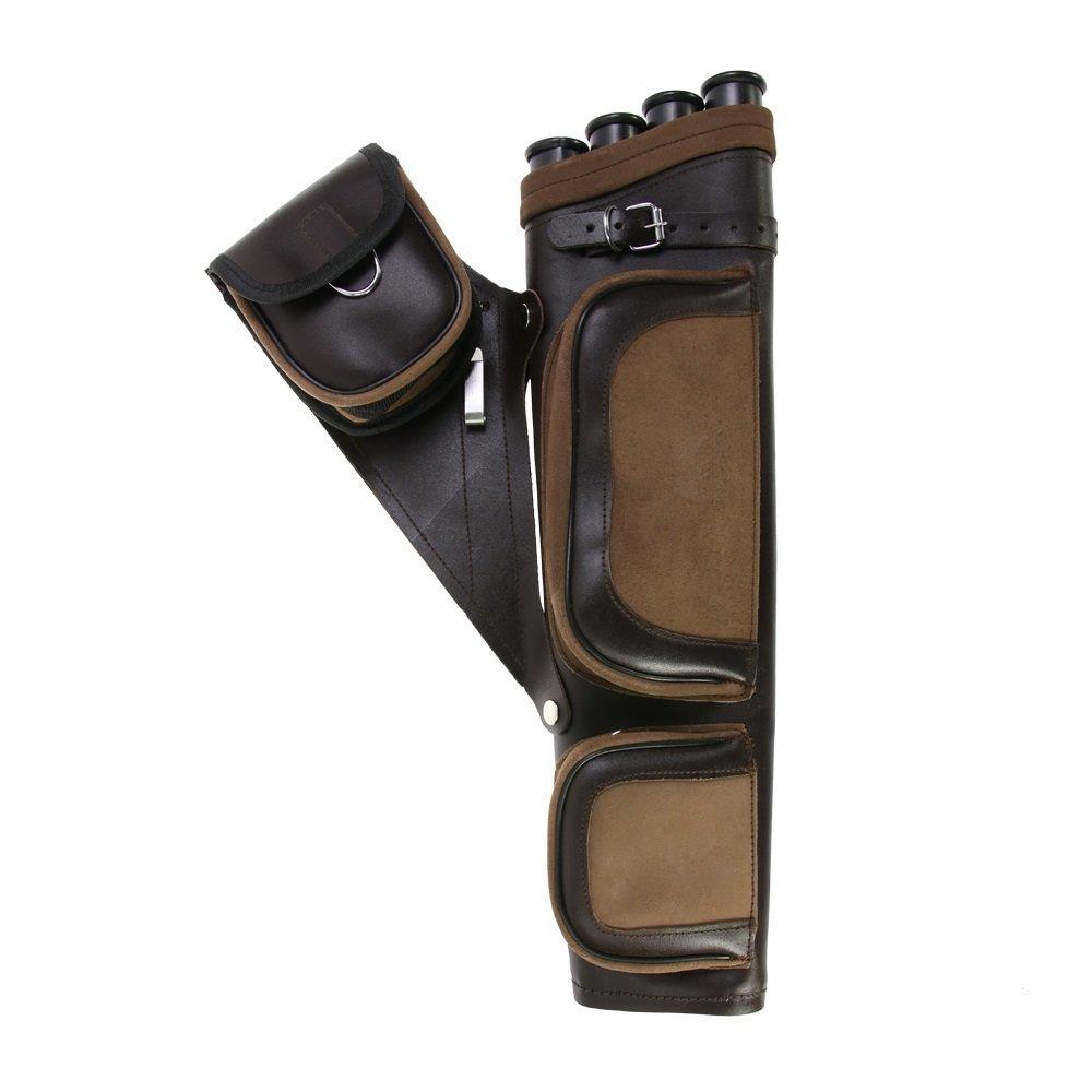Sharplace 6 Pieces//Set Professional Black Round EVA Arrow Rack Separator Holder Quiver Outdoor Archery Shooting Tool