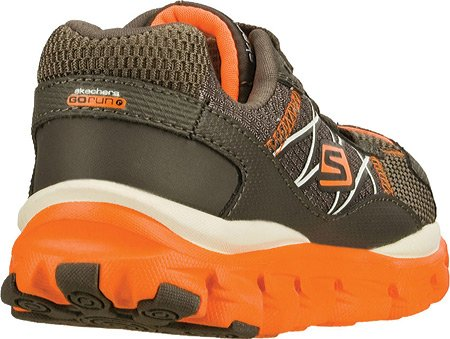 Skechers Go Run Fahrt Innate (Little Kids) Running Holzkohle / Orange