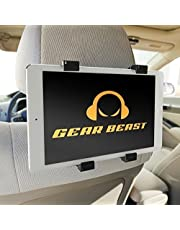 """Car Back Seat Headrest Mount Holder for iPad Pro 12.9 and 9.7, iPad Air, iPad Mini, Samsung Galaxy Tab, Google Pixel C, Sony Xperia Z4, Z3, Nexus 9, Microsoft Surface, Nabi and Other 7"""" to 13"""" Tablets"""