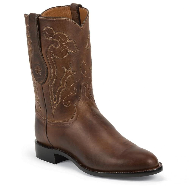 Tony Lama Men's Signature Series Rista Calf Cowboy Boot Round Toe - 1022