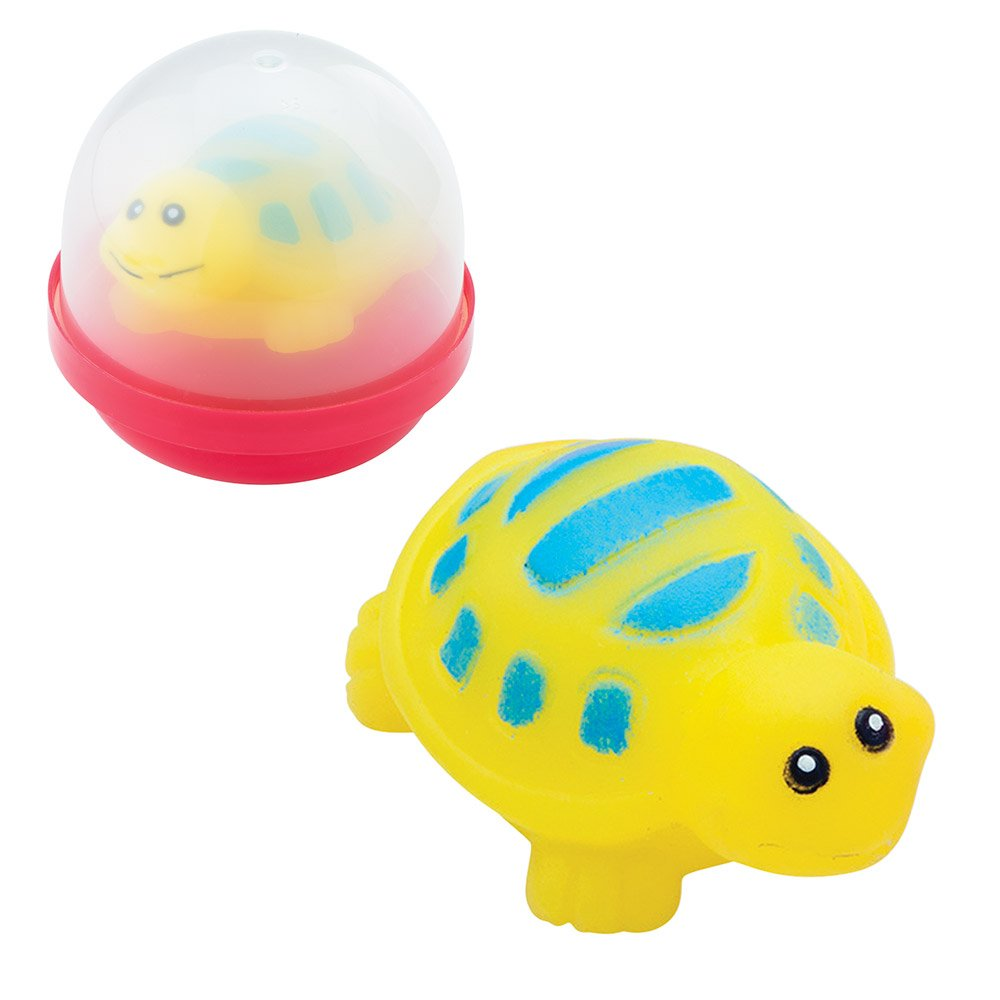 SmileMakers Turtle Squirters in 2'' Capsules - Capsule Toy Prizes 250 per Pack by SmileMakers (Image #1)