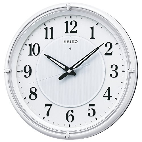 SEIKO CLOCK ( Seiko clock ) Fine light NEO automatic lights analog radio hanging clock ( white ) (Seiko White Clock)