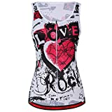 Summer Cycling Vest Sleeveless Cycling Jerseys Cycling Women Outdoor Clothing,Multicolored,Asia XXXL=US X-Large