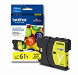 Office Products : Brother LC61Y Ink Cartridge -325 Retail Packaging-Yellow