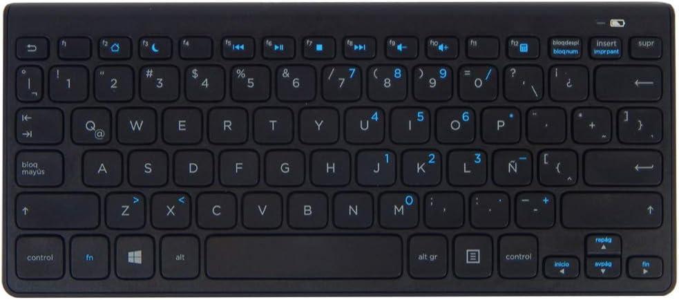 HP Universal Spanish Bluetooth Slim Keyboard SK-9071 NO-Battery