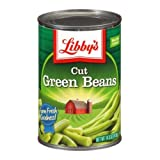 Libbys Cut Green Beans - 15.5 oz. can, 24 cans per case