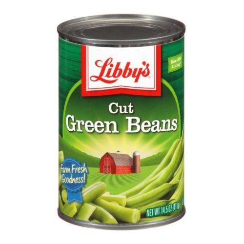 Price comparison product image Libbys Cut Green Beans - 15.5 oz. can,  24 cans per case
