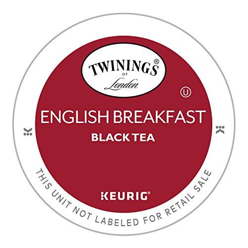 Twinings English Breakfast Tea, Keurig K-Cups, 24 Count