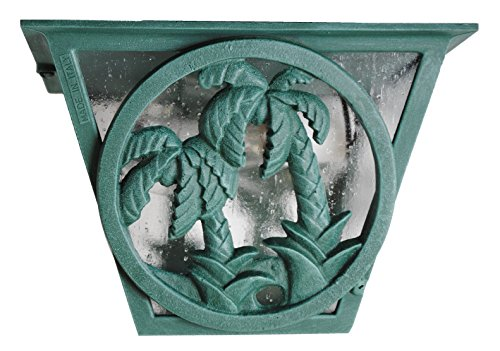(Melissa Lighting PT53 Tropical/British Colonial Outdoor Ceiling Mount from Palm Tree Series Collection in Bronze/Darkfinish)