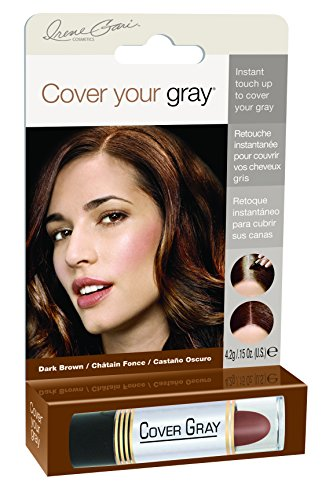 Cover Your Gray for Women Touch Up Stick, Dark Brown, 0.15 ()