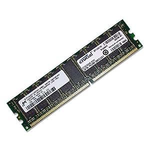 Crucial 1GB PC3200 DDR400 ECC Unbuffered 184Pin Memory p/n: CT12872Z40B
