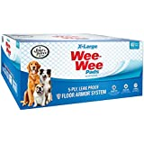 Four Paws Wee-Wee Dog Training Pads, X-Large, 40 Pack