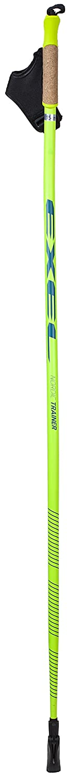 Neon Yellow//Blue Nordic Trainer Curve//EVO 110 Unisex EXEL Unisex Trainer Curve//EVO Bastones