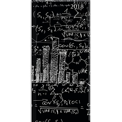 2018 Equations Pocket Diary - 3.34 x 6.8 x 0.47 Inches
