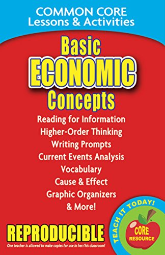 UPC 710430104512, Basic Economic Concepts - Common Core Lessons and Activities