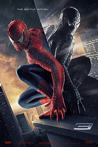 Rare 2007 Poster - SPIDER-MAN 3 (2007) Original Movie Poster 27x40 - RARE EMBOSSED STYLE - DS - Toby Maguire - Kirsten Dunst - James Franco - Thomas Haden Church