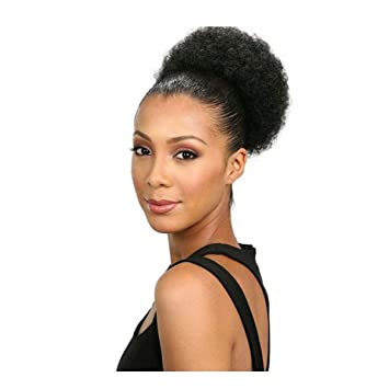 Amazon Kehuitong Ponytail African American Short Coiled