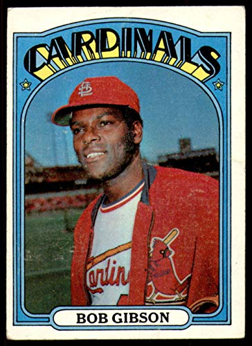 1972 Topps Baseball 130 Bob Gibson Excellent (5 out of 10) by Mickeys Cards