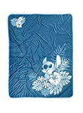 Disney Lilo & Stitch Chevron Stitch Plush Throw Blanket