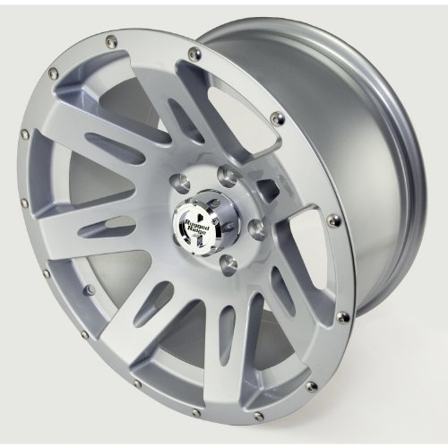 Rugged Ridge 15301.40 XHD Silver Wheel for Select Jeep Wrangler JK Models (17x9