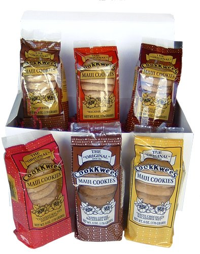 6-PACK COOKIE LOVER GIFT SET - COOK KWEE MAUI COOKIES