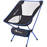 Moon Lence Camping Chair Compact Ultralight Portable Folding Backpacking Chairs with Carry Bag