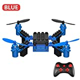 Triple A KY201 Building Blocks Helicopter RC TOY Foldable Pocket Drone Mini Quadcopter RC Building Blocks Helicopter RC TOY