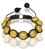 Buddha Bracelet Unisex and Adjustable In All Yellow (Item Includes Gift Box), Best Gadgets