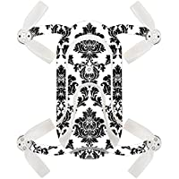 Skin For ZEROTECH Dobby Pocket Drone – Vintage Damask | MightySkins Protective, Durable, and Unique Vinyl Decal wrap cover | Easy To Apply, Remove, and Change Styles | Made in the USA