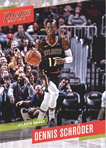 7a39ab25e Amazon.com  2017-18 Panini Prestige  36 Dennis Schroder Atlanta Hawks  Basketball Card  Collectibles   Fine Art