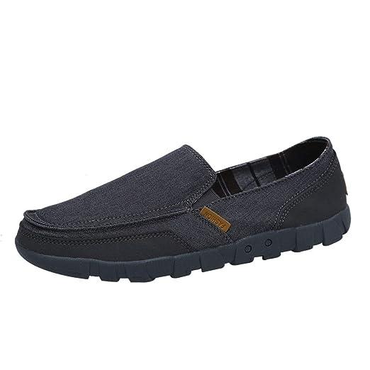 2019 Zapatos para hombre Mocasines Hombres holgazanes Casual ...