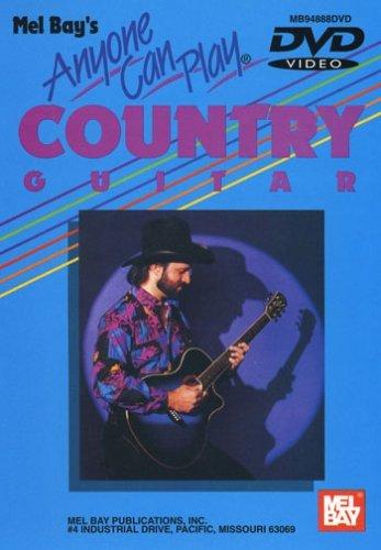 Anyone Can Play Country Guitar Guitar (Flatpicking & Fingerpicking) Dv [DVD]