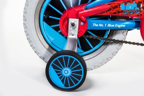 Dynacraft Thomas The Train Boys Bike with Realistic Sounds 14'', Blue/Red/Black by Nickelodeon (Image #5)