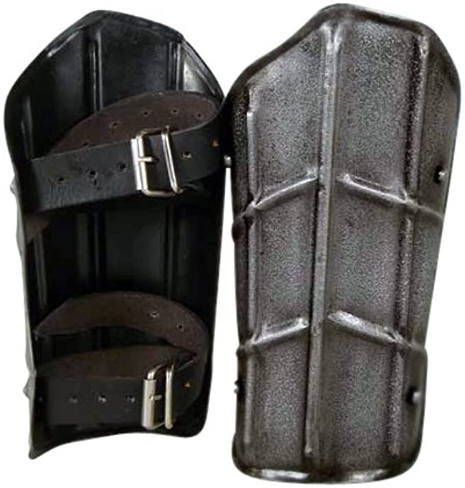 Amazon.com: Armor Venue Dark Drake Steel Arm Bracers - Large ...