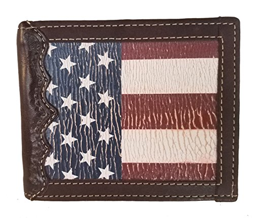 with Distressed Original Bi Wallet background a fold States United Flag Custom ITgqw