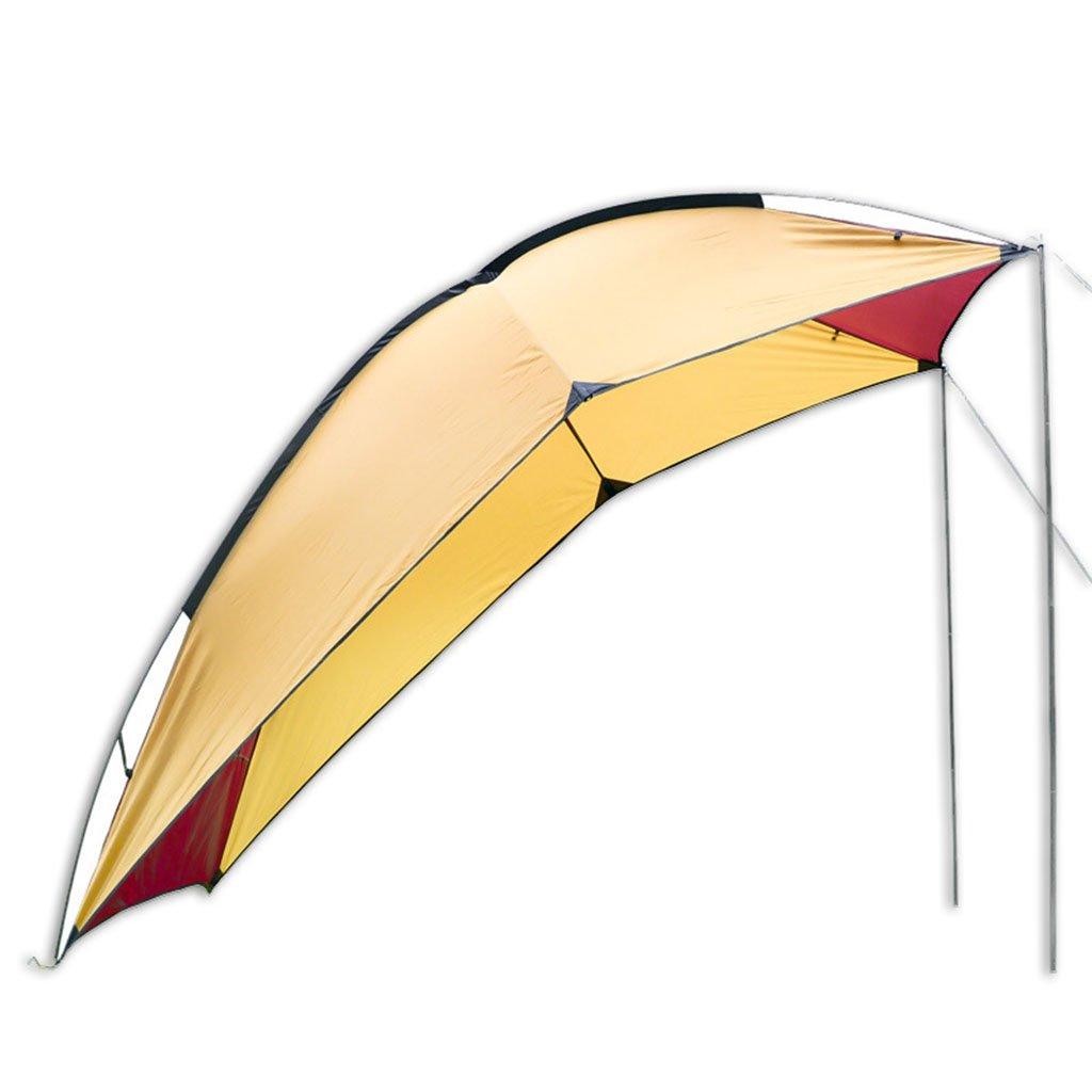 リアテント、ポータブルキャンプバーベキューマルチエアディフェンスレインウィングビーチキャノピーテント(サイズ:94 * 74 * 78インチ)  A B07CRFFCDR