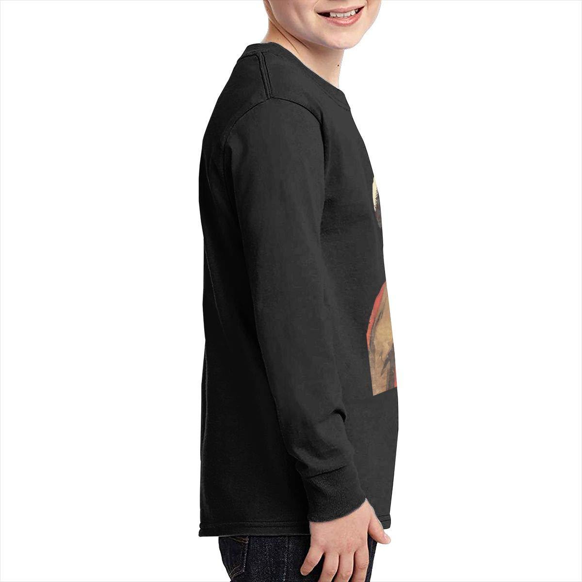 RhteGui Marvin Gaye Boys /& Girls Junior Vintage Long Sleeve T-Shirt Black