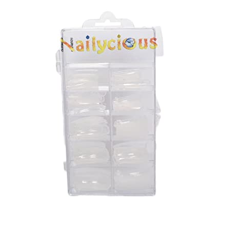 Nailycious - Doble sistema de formas para esculpir de uñas acrílicas (