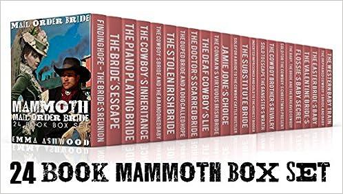 Mail Order Bride: Mammoth Mail Order Bride 24 Book Box Set (Historical Western Romance)