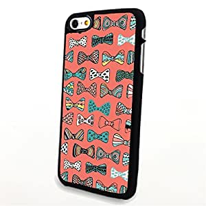 Generic Phone Accessories Matte Hard Plastic Phone Cases Colorful Bow Tie fit for Iphone 6