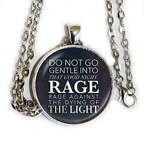 "Do Not Go Gently Into That Night Rage Rage Against Your: Amazon.com: ""Do Not Go Gentle Into That Good Night, Rage"