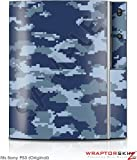Sony PS3 Skin WraptorCamo Digital Navy