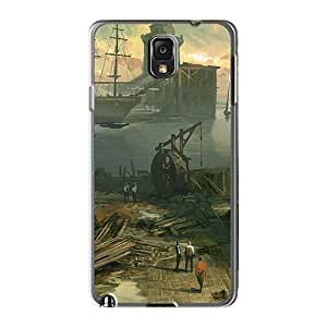 Tpu Fashionable Design Assassins Creed Revelations Concept Art Rugged Case Cover For Galaxy Note 3 New