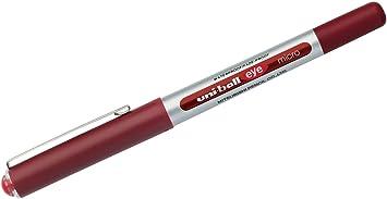 uni-ball Tintenroller eye micro Strichfarbe rot
