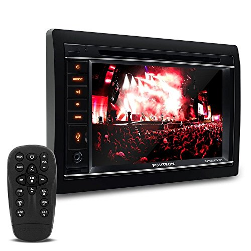 Central Multimidia, Pósitron, SP8520, DVD Automotivo, Preto